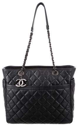 Chanel Quilted Lambskin Shopper