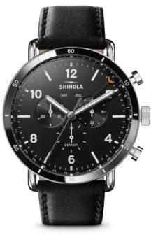 Shinola The Canfield Sport Chronograph Calendar Watch