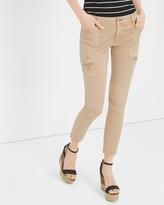 White House Black Market Twill Skinny Jeans