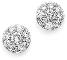 Bloomingdale's Diamond Circle Large Stud Earrings in 14K White Gold, 2.0 ct. t.w. - 100% Exclusive