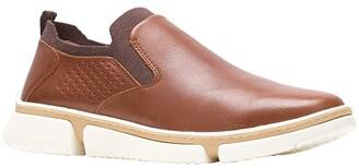 Hush Puppies Bennett PT Slip-On (Cognac Leather) Men's Shoes