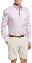 Peter Millar Crown Finish Gingham Sport Shirt