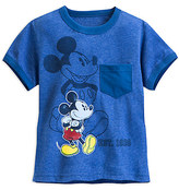 Disney Mickey Mouse Heathered Ringer Tee for Boys
