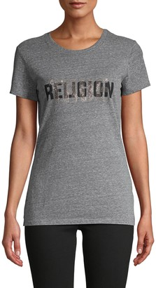 True Religion Embellished Logo T-Shirt