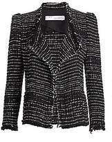 IRO Women's Diana Puff Shoulder Tweed Jacket