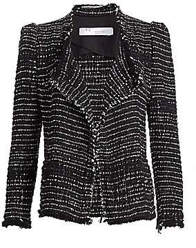 IRO Women's Diana Puff Shoulder Tweed Jacket