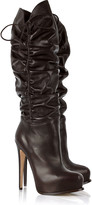 Brian Atwood Matrix leather boots