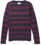 Oliver Spencer - Francisco Striped Cotton and Wool-Blend Sweater