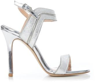 Moda In Pelle Reev Silver Porvair