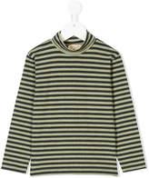 Amelia Milano horizontal stripe Paul roll-neck top