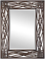 Asstd National Brand Dorigrass Brown Metal Mirror