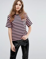 French Connection Carnaby Stripe Relaxed Top