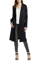 Chelsea28 Satin Stripe Duster