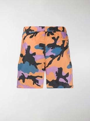 Valentino Camouflage Print Swimming Trunks