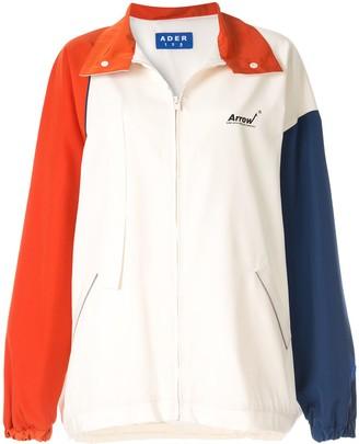 Ader Error Colour Block Zipped Jacket
