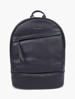 WANT Les Essentiels Navy Leather Kastrup Backpack