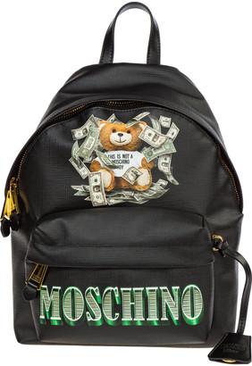 Moschino Dollar Teddy Bear Backpack