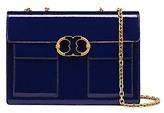 Tory Burch Gemini Link Patent Medium Chain Shoulder Bag
