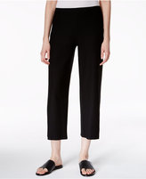 Eileen Fisher Washable Crepe Cropped Pants