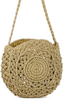 Magid Women's Handbags TOAST - Toast Crochet Circle Jute Shoulder Bag