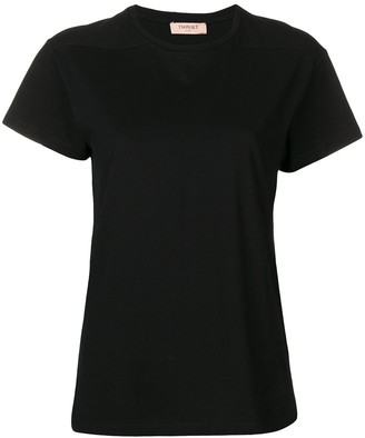 Twin-Set plain T-shirt