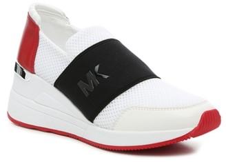 MICHAEL Michael Kors Felix Wedge Slip-On Sneaker