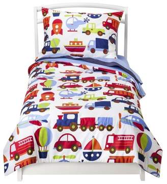Bacati Toddler Bedding Set - 4pc - Transportation 4pc