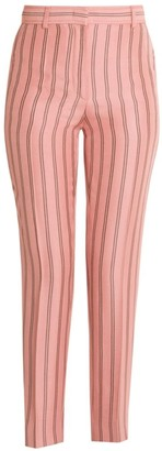 Emilio Pucci Pinstripe Cigarette Pants