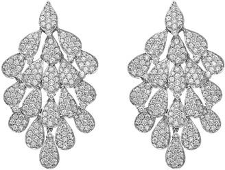 Hueb Secret Garden Diamond Chandelier Earrings