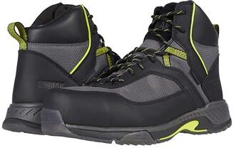 Kodiak MKT 1 Composite Toe Hiker (Black/Lime) Men's Shoes