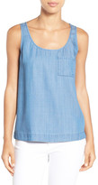 Vince Camuto Denim Chambray Tank