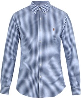 Polo Ralph Lauren Slim-fit gingham-cotton shirt