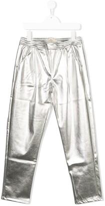 TEEN metallic trousers