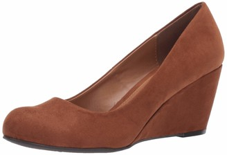 Chinese Laundry Women's Nima Super Suede Wedge Pump