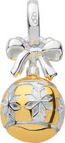 Links of London Sterling silver and 18ct gold vermeil star bauble charm