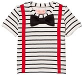 BANG BANG Copenhagen Black and White Braces and Bow Tie Louis Tee
