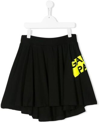 Gaelle Paris Kids TEEN pleated mini skirt