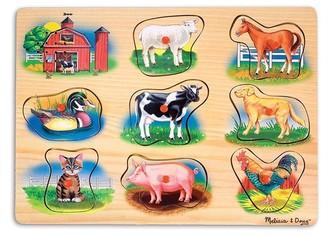 Melissa & Doug Classic Farm Sound Puzzle