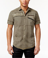 INC International Concepts Men's Scorpion Top-Stitched Shirt, Only at Macy's