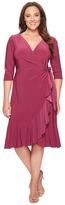 Kiyonna Whimsy Wrap Dress Women's Dress