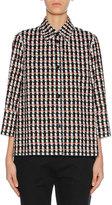 Marni 3/4-Sleeve Pajama Top