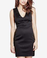 GUESS Lourdes Perforated Bodycon Dress