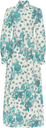 Evi Grintela Jasmine Printed Cotton Maxi Dress