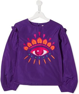 Kenzo Kids TEEN graphic print sweatshirt