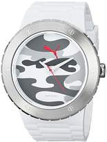 Puma Men's PU103331004 Blast L Analog Display Quartz White Watch