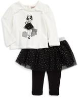 Nanette Lepore Infant Girl's Shopping Girl Tee & Skirt Set
