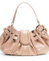 Bedelia Handbag in Nude