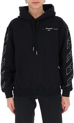 Off-White Off White Graphic Printed Hoodie