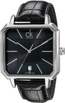 Calvin Klein Men's K1U21107 Concept Analog Display Swiss Quartz Watch