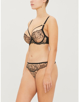 Aubade Baisers Charnels moulded plunge bra